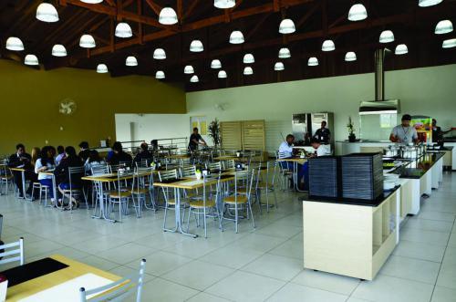 sala motoristas SBC restaurante