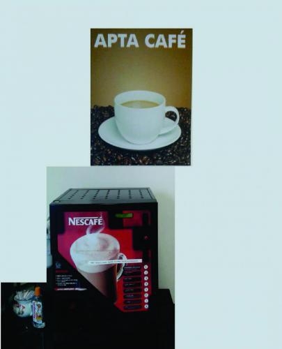 sala motoristas apta café